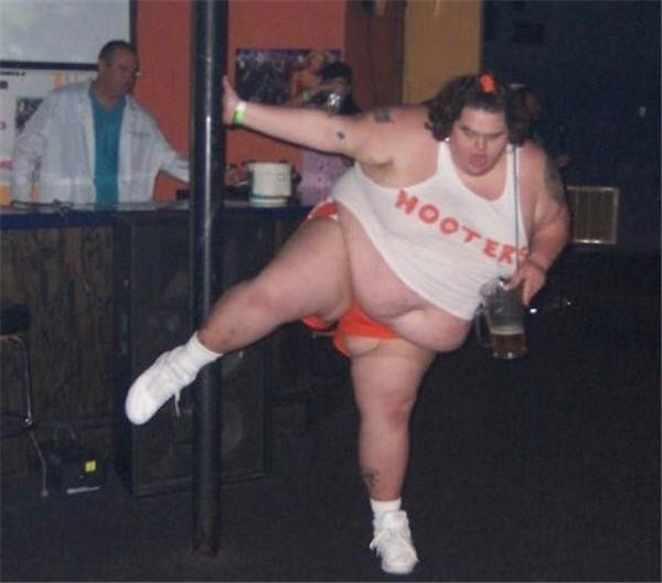 толстая стриптизерша фото